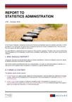 Mazars: Report to statistics administration